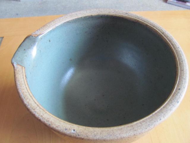 Studio Pottery mixing bowl - JA mark  38311