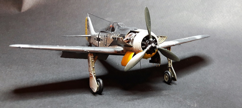 FW 190A8 - EDUARD ROYAL CLASS + Brassin -1/72 + projet diorama (Trois avions terminés) - Page 3 Eduard10