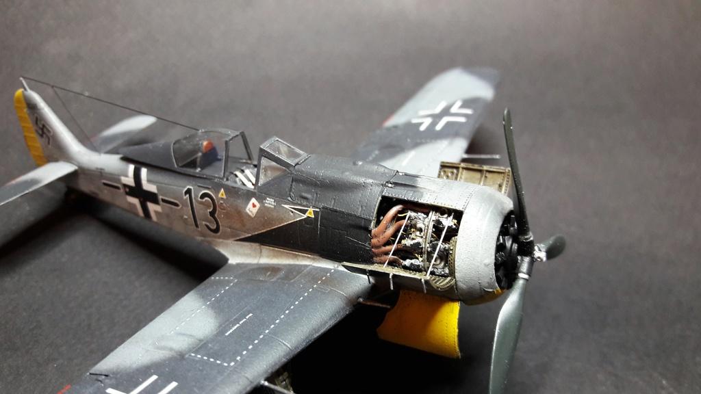 FW 190A8 - EDUARD ROYAL CLASS + Brassin -1/72 + projet diorama (Trois avions terminés) - Page 3 Eduard12