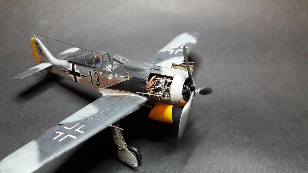 FW 190A8 - EDUARD ROYAL CLASS + Brassin -1/72 + projet diorama (Trois avions terminés) - Page 3 Eduard13