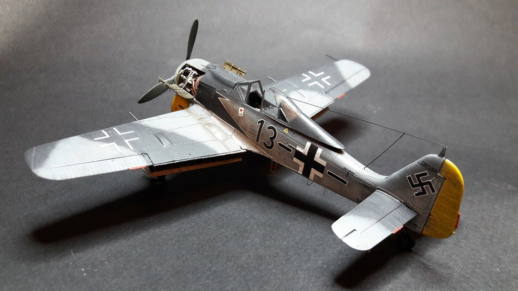 FW 190A8 - EDUARD ROYAL CLASS + Brassin -1/72 + projet diorama (Trois avions terminés) - Page 3 Eduard14