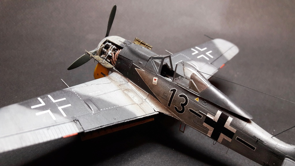 FW 190A8 - EDUARD ROYAL CLASS + Brassin -1/72 + projet diorama (Trois avions terminés) - Page 3 Eduard16