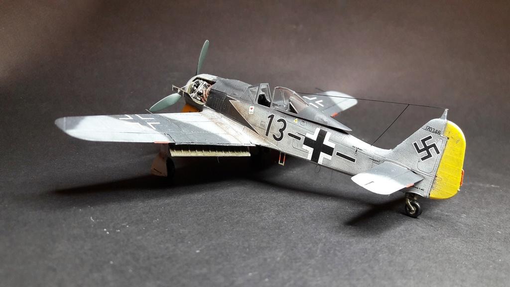 FW 190A8 - EDUARD ROYAL CLASS + Brassin -1/72 + projet diorama (Trois avions terminés) - Page 3 Eduard18