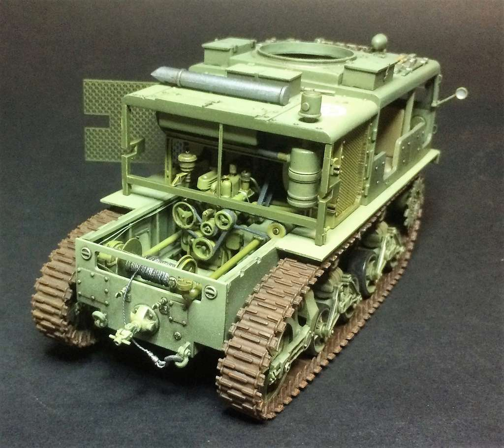 M4 High speed tractor - HOBBYBOSS - 1/35 - Page 8 Img_6817