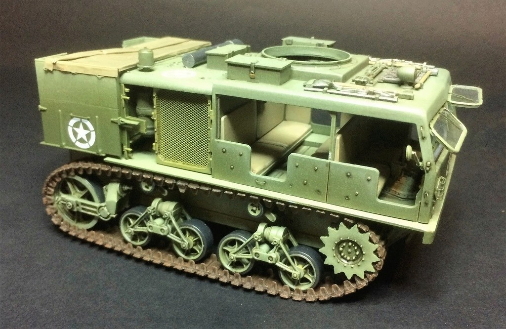 M4 High speed tractor - HOBBYBOSS - 1/35 - Page 8 Img_6820
