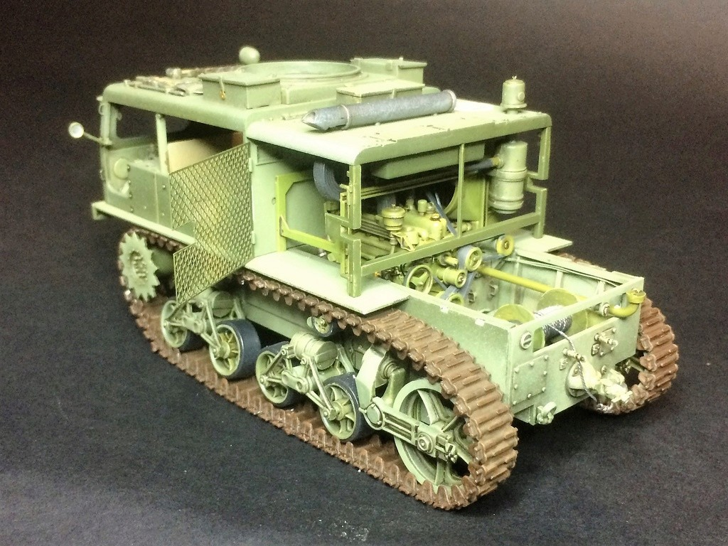 M4 High speed tractor - HOBBYBOSS - 1/35 - Page 8 Img_6821