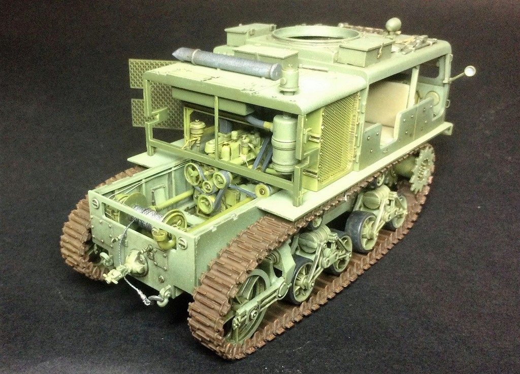 M4 High speed tractor - HOBBYBOSS - 1/35 - Page 8 Img_6823