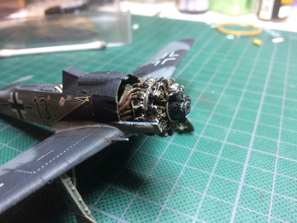 FW 190A8 - EDUARD ROYAL CLASS + Brassin -1/72 + projet diorama (Trois avions terminés) - Page 2 Img_7329