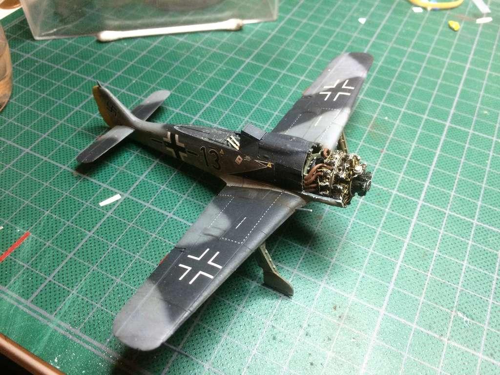 FW 190A8 - EDUARD ROYAL CLASS + Brassin -1/72 + projet diorama (Trois avions terminés) - Page 2 Img_7333