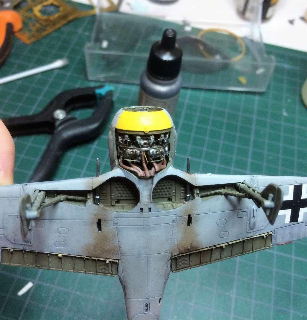 FW 190A8 - EDUARD ROYAL CLASS + Brassin -1/72 + projet diorama (Trois avions terminés) - Page 2 Img_7424