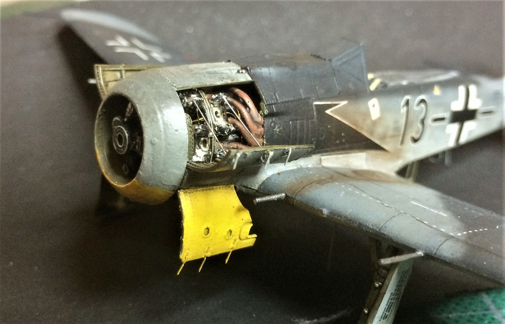 FW 190A8 - EDUARD ROYAL CLASS + Brassin -1/72 + projet diorama (Trois avions terminés) - Page 2 Img_7443