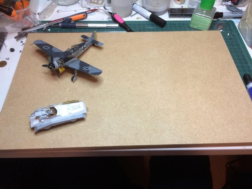 FW 190A8 - EDUARD ROYAL CLASS + Brassin -1/72 + projet diorama (Trois avions terminés) - Page 3 Img_7456