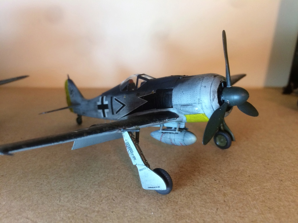 FW 190A8 - EDUARD ROYAL CLASS + Brassin -1/72 + projet diorama (Trois avions terminés) - Page 3 Img_7519