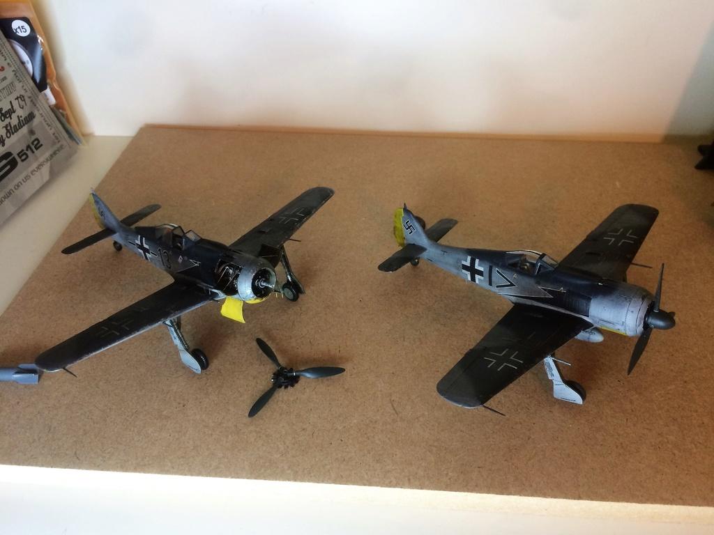FW 190A8 - EDUARD ROYAL CLASS + Brassin -1/72 + projet diorama (Trois avions terminés) - Page 3 Img_7520