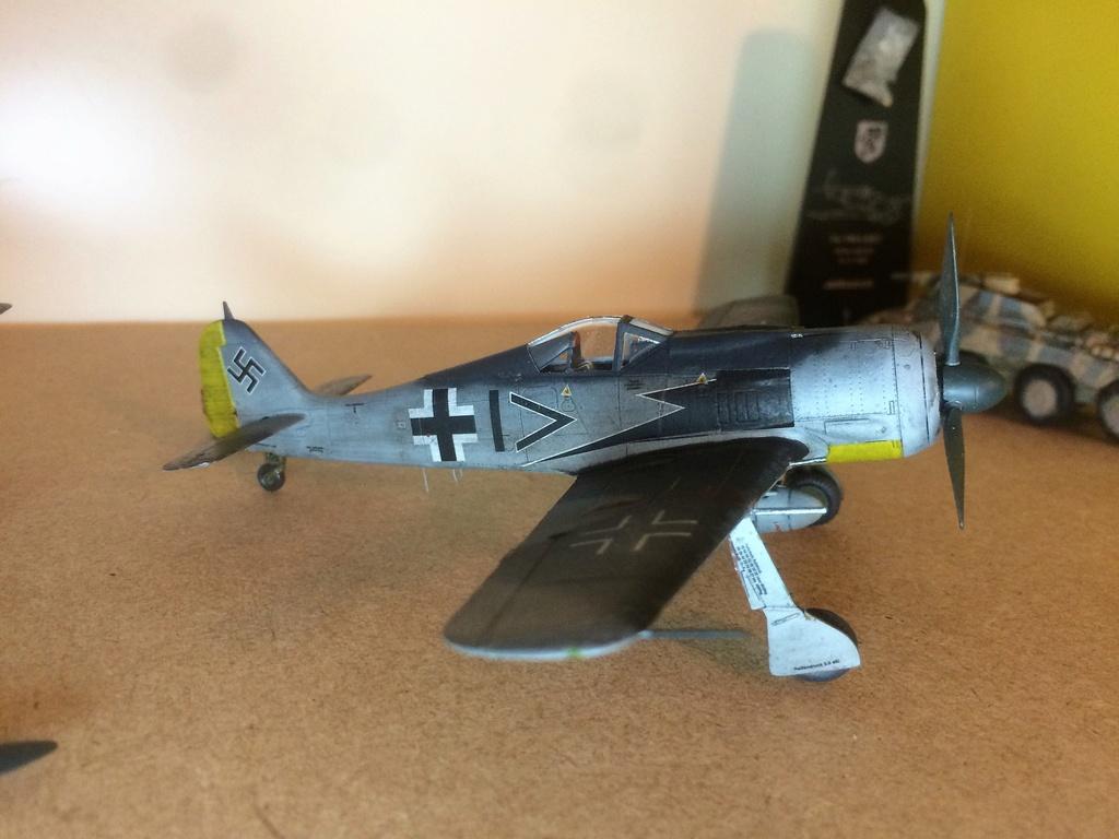 FW 190A8 - EDUARD ROYAL CLASS + Brassin -1/72 + projet diorama (Trois avions terminés) - Page 3 Img_7521