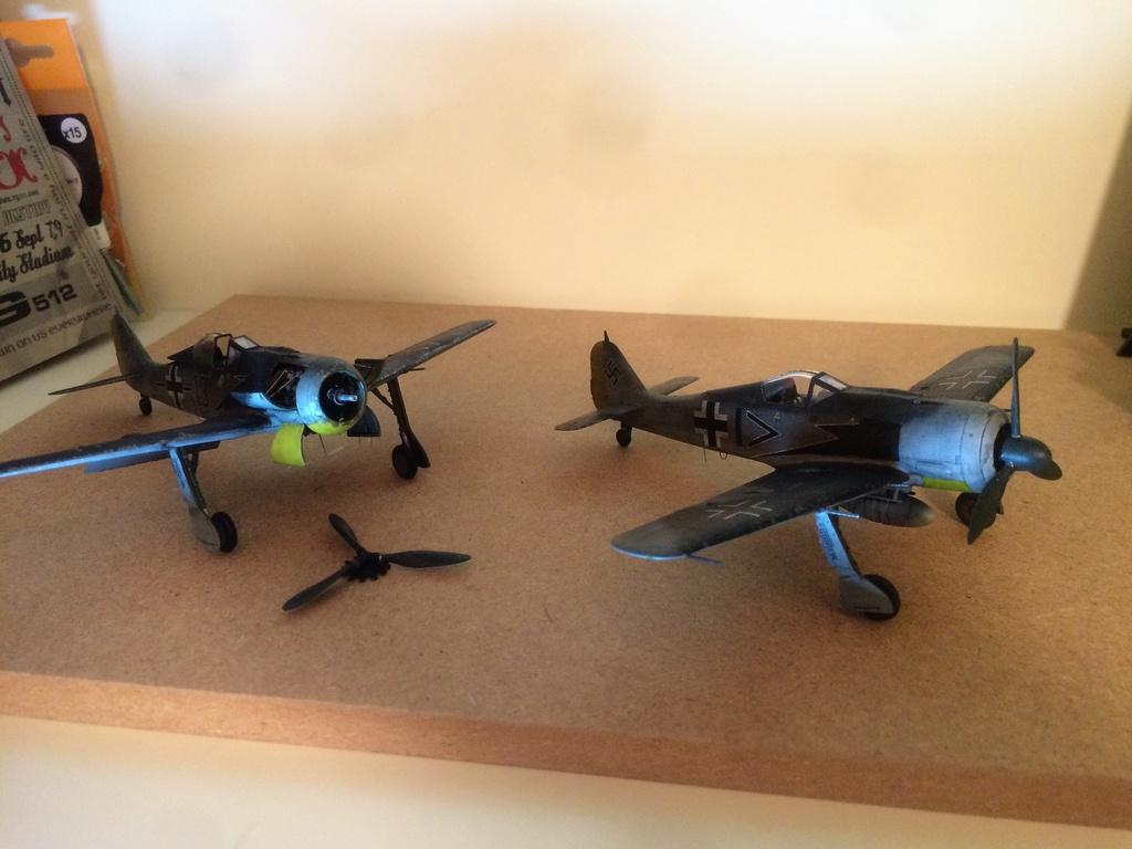 FW 190A8 - EDUARD ROYAL CLASS + Brassin -1/72 + projet diorama (Trois avions terminés) - Page 3 Img_7522