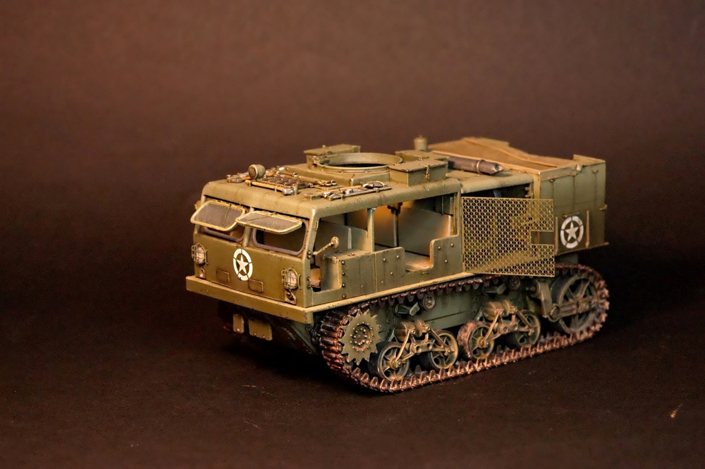 M4 High speed tractor - HOBBYBOSS - 1/35 - Page 9 M4_tra10