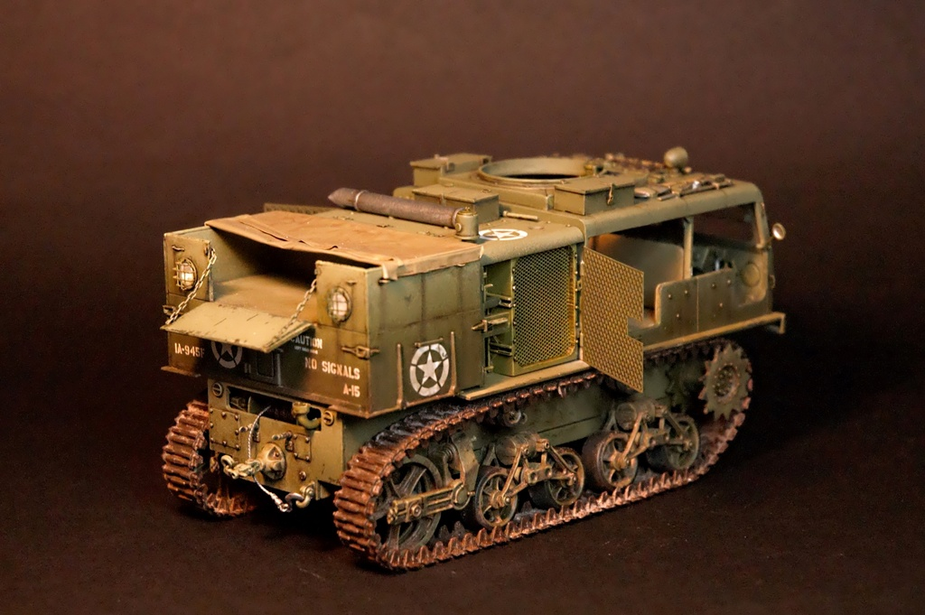 M4 High speed tractor - HOBBYBOSS - 1/35 - Page 9 M4_tra11