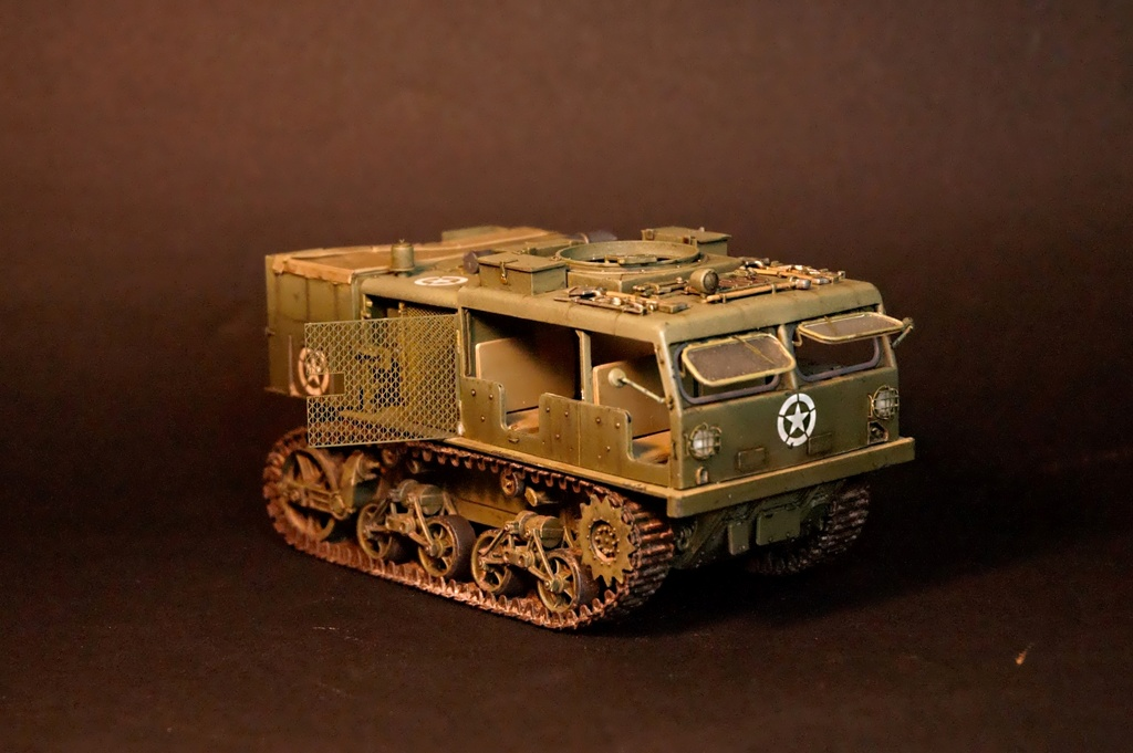 M4 High speed tractor - HOBBYBOSS - 1/35 - Page 9 M4_tra12