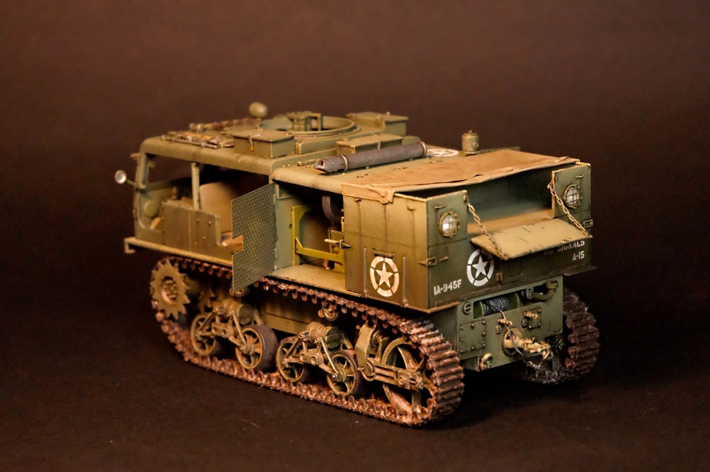 M4 High speed tractor - HOBBYBOSS - 1/35 - Page 9 M4_tra13
