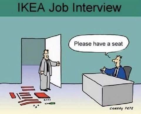 interview pour une job à Ikéa Ikea10
