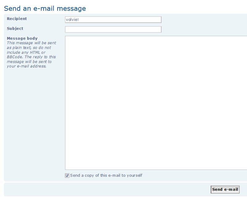 newsletter - Forum Communications (E-mail, PM, Newsletter, Notifications) and Profile Settings Sendem10