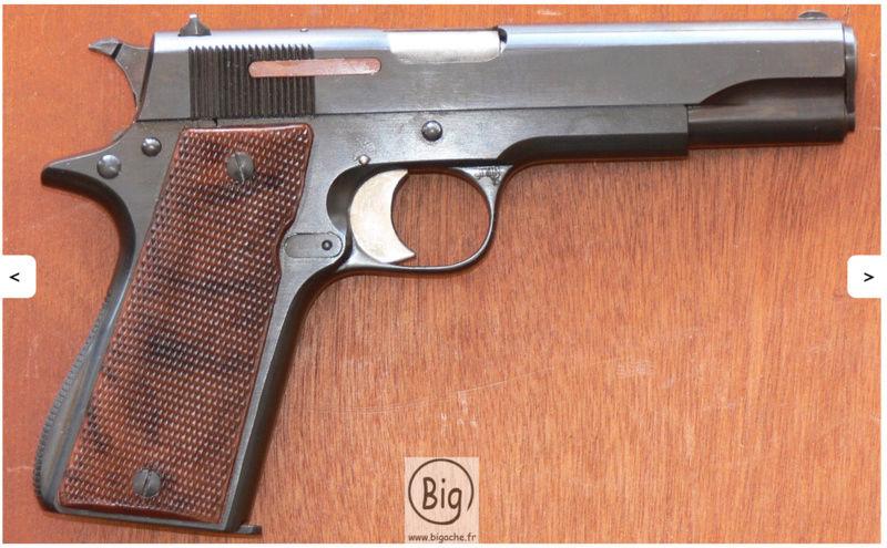 """rendre le plus bel aspect mais en conservant le coté """"authentique"""" sur une arme de poing Captur10"""