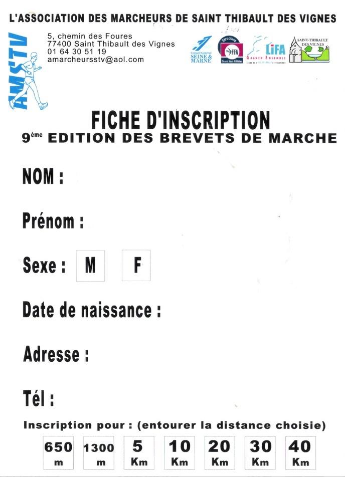 Brevets de marche à St Thibault des Vignes (77); 9/12/2012 Brevet11