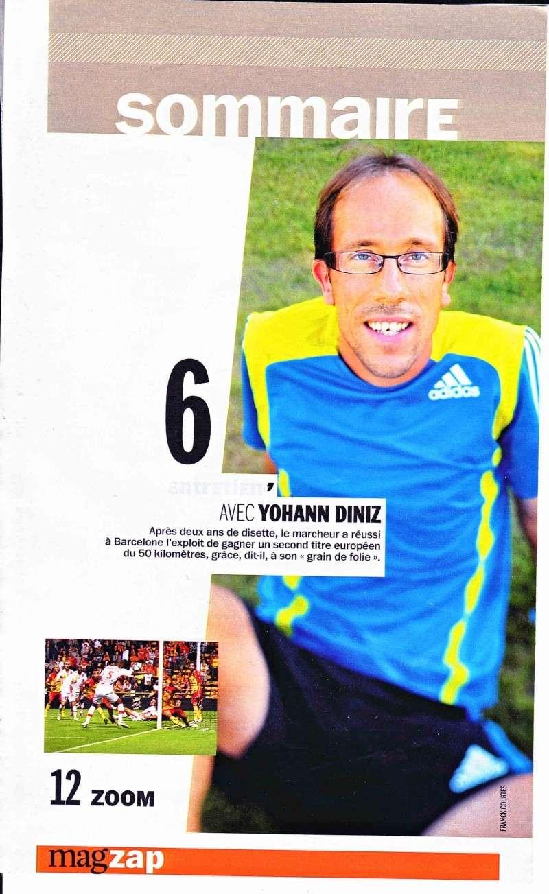 "Entretien de Yohann DINIZ ""magazine équipe MAG"" Diniz_10"