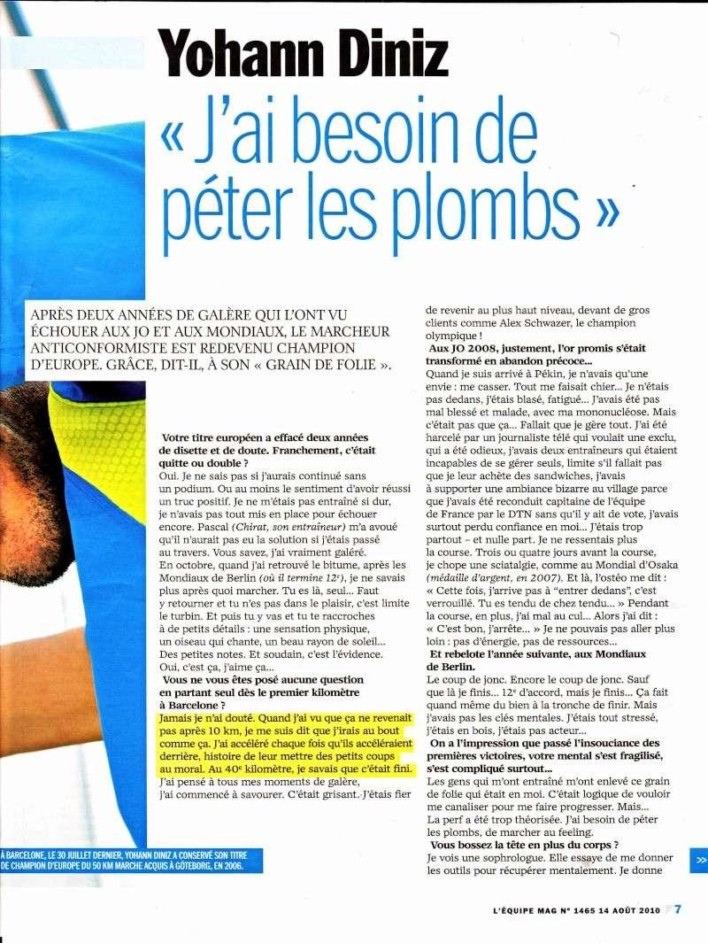 "Entretien de Yohann DINIZ ""magazine équipe MAG"" Diniz_12"