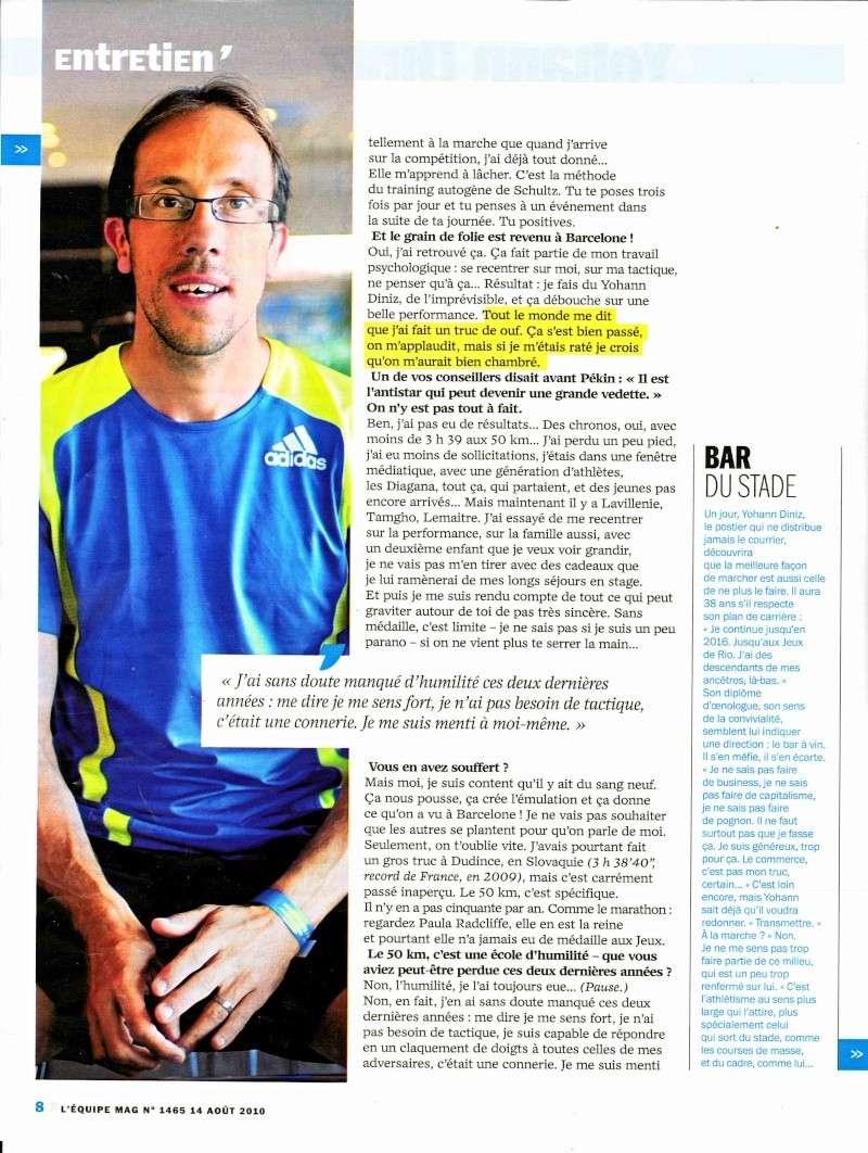 "Entretien de Yohann DINIZ ""magazine équipe MAG"" Diniz_13"