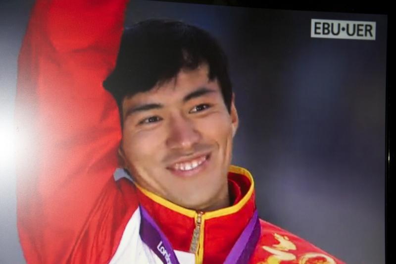 Le podium du 20km olympique  Img_7711
