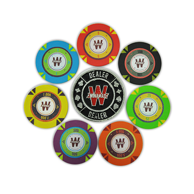 vend Mallette de poker en Aluminium Rouge 500 jetons Malett10