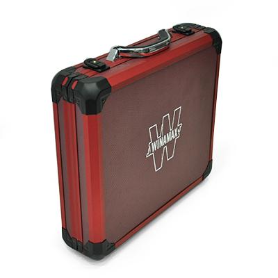 vend Mallette de poker en Aluminium Rouge 500 jetons Malett11