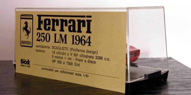 Ferrari 250 LM Box_mo80