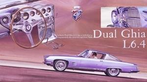 CORGI TOYS - GHIA L 6.4 With Chrysler V8 Engine - 241 - 1963/69 Dual_g10