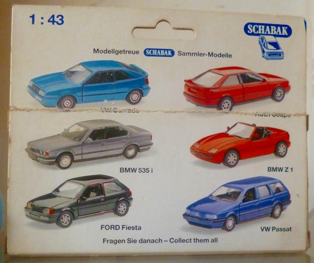 Schabak 1:43 - BMW Z1 - 1160 - 1989 Schaba20
