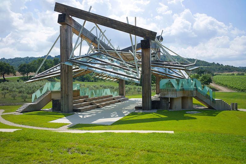 Evolution des pavillons d'été de la Serpentine Gallery à Londres - Royaume-Uni Frank-10