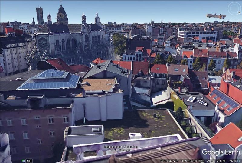 Lieux de tournage de vidéo-clip découverts avec Google Earth - Page 2 Toit10