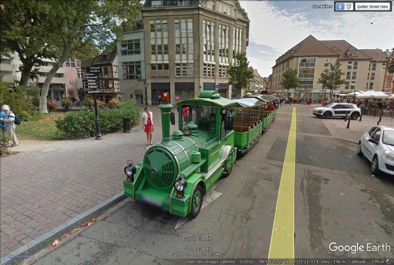 STREET VIEW : les petits trains touristiques Train10