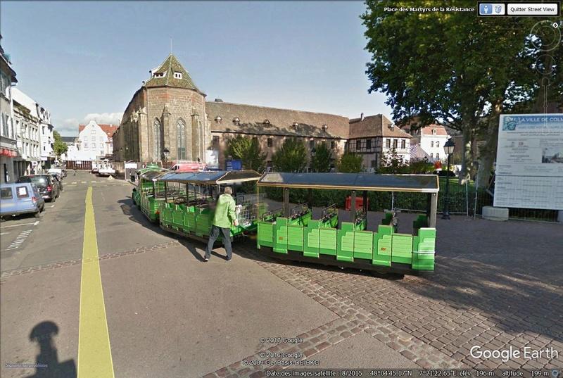 STREET VIEW : les petits trains touristiques Train110
