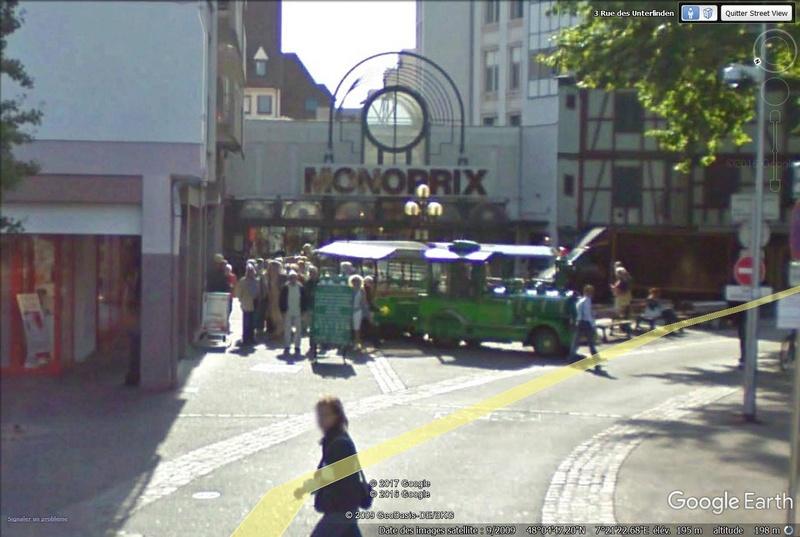 STREET VIEW : les petits trains touristiques Train210