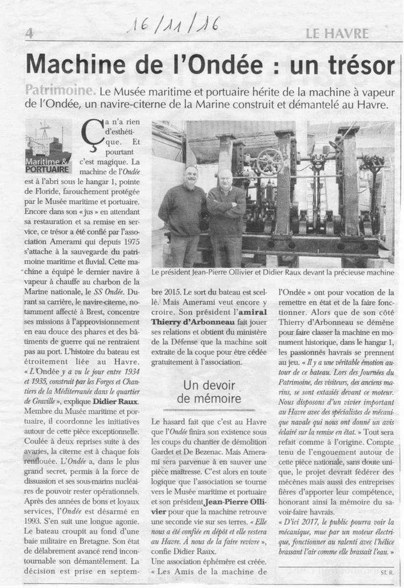 [Le cimetière des bateaux et du patrimoine de la Marine] Sauvons l'Ondée !!! 168