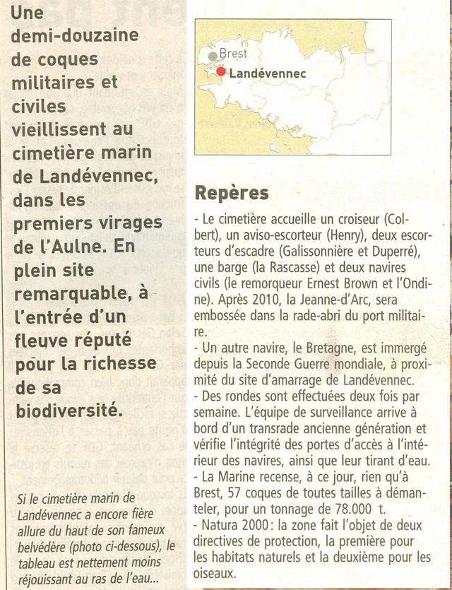 [Le cimetière des bateaux et du patrimoine de la Marine] Le cimetière de LANDEVENNEC - Page 5 Momo211