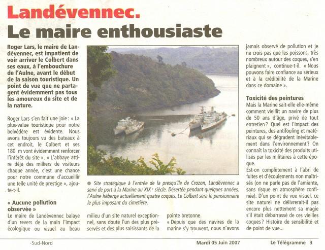 [Le cimetière des bateaux et du patrimoine de la Marine] Le cimetière de LANDEVENNEC - Page 3 Momo23