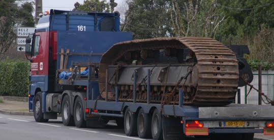 L'épave provisoire du cargo Tk Bremen échoué à Erdeven 15545410