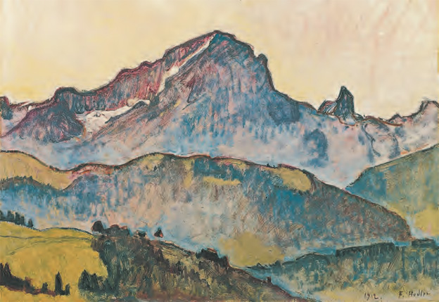 Exposition Hodler Monet Munch – Peindre l'impossible - Musée Marmottan Monet 95564210