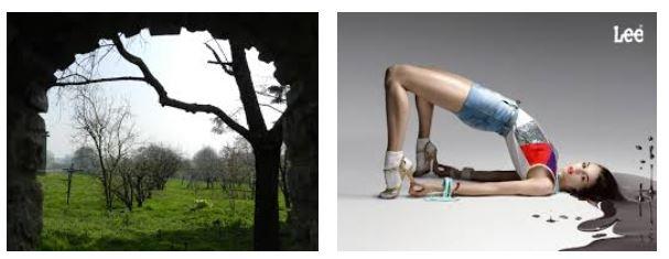Juxtapositions oulipiennes d'images - Poésie des contrastes Arches10