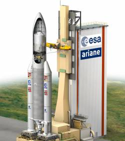 200ème lancement d'Ariane emporte l'ATV Johanes Kepler Ariane10