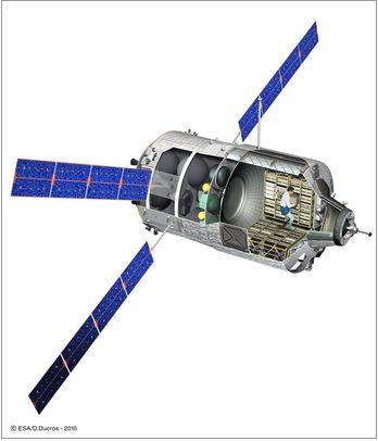 200ème lancement d'Ariane emporte l'ATV Johanes Kepler Atv-jo10